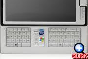 スライド式QWERTYキーボード