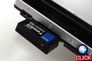 SDIO機器も使用できるメディアカードスロット