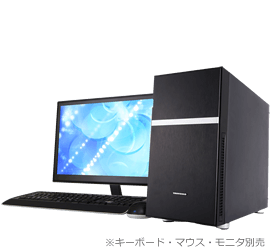 TSUKUMO PC ミニタワー TM7J-B210T/R/CP1