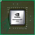 NVIDIA GeForce GT650M グラフィックス