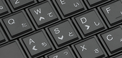WASDキートップに方向キーを印字