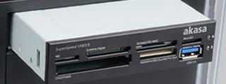 USB3.0 カードリーダー取り付けイメージ