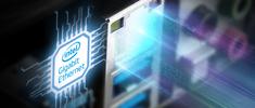 信頼性と安定性で定評の高いIntel社製LANチップ