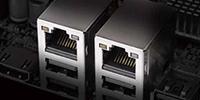 デュアル Intel LANポート