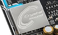 低ノイズにこだわったオーディオ機能 Crystal Sound 3搭載